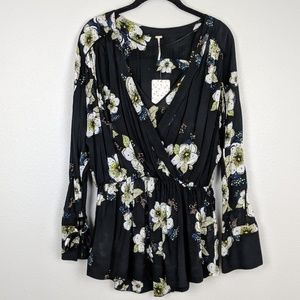 Free People Tuscan Dreams Floral Tunic NWT